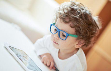 התאמת משקפיים בילדים