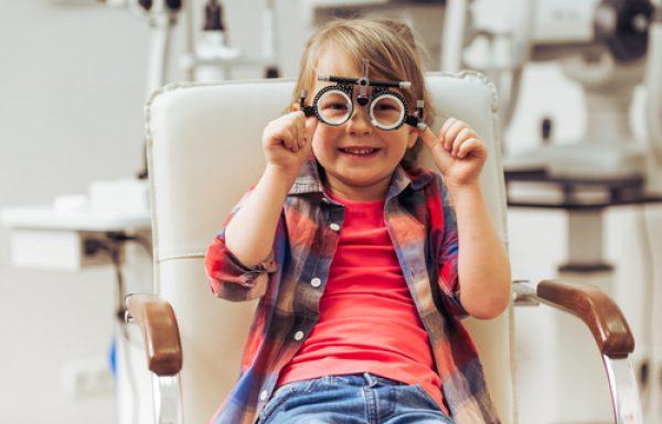 בדיקות סקירת ראיה בתינוקות וילדים